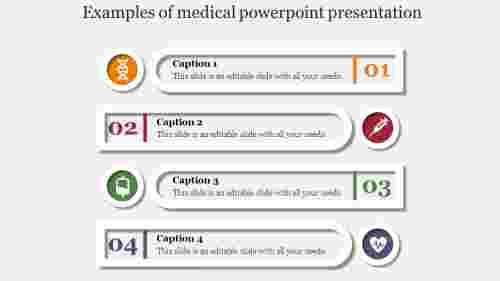 Infographics medical powerpoint presentation-Layered Horizondal