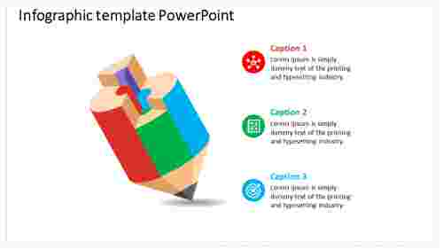 Infographic Powerpoint Template For Education Presentation