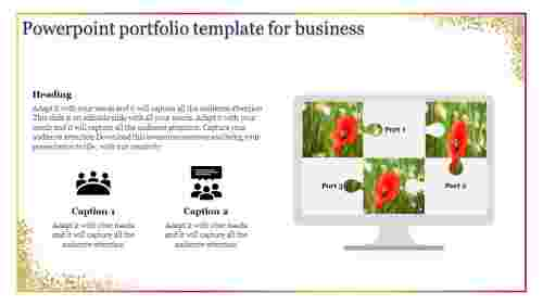 investment portfolio examples powerpoint