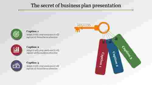 business plan presentation - Key design