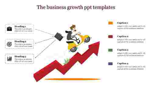 business growth powerpoint templates for success