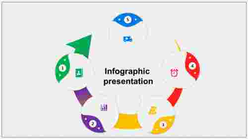 Vertical infographic template powerpoint