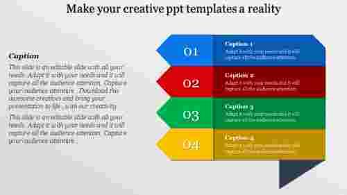 Arrows creative PPT templates