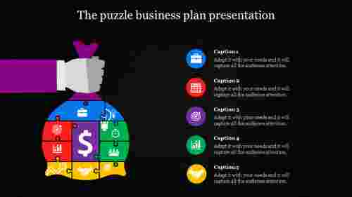 business plan presentation-The puzzle business plan presentation