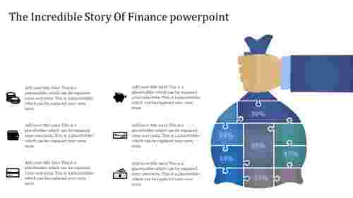 finance powerpoint template-The Incredible Story Of Finance powerpoint-Blue