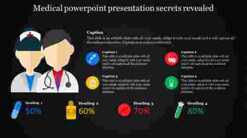 silhoutes medical powerpoint presentation
