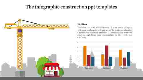 construction ppt templates-The infographic construction ppt templates