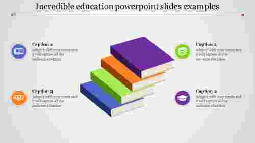 educationpowerpointslides-3Dfourbooks