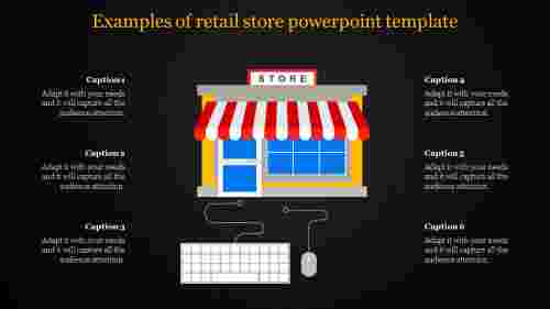 retail store powerpoint template - new store