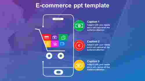 e commerce ppt template