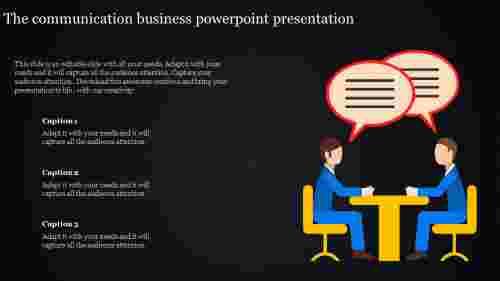 Communication business powerpoint presentation