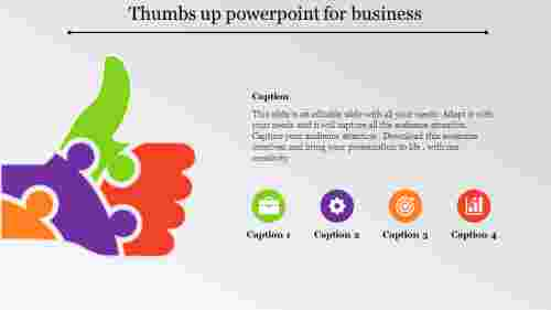 thumbs up powerpoint-Thumbs up powerpoint for business