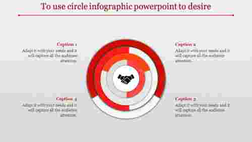 Circle infographic powerpoint-Concentric design