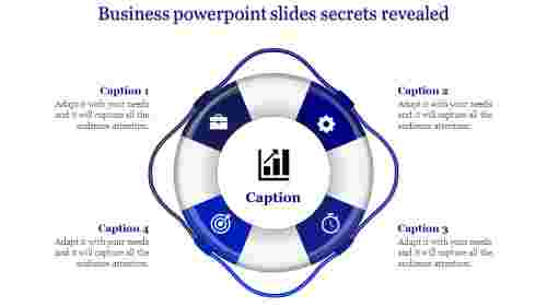 business powerpoint slides with innovative shapes