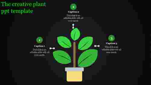 plant ppt template-The creative plant ppt template