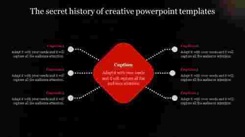 Diamond model creative PowerPoint templates