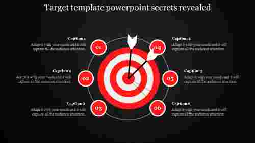 Target template powerpoint Process