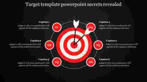 Target template powerpoint Process