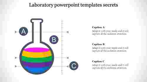 laboratory powerpoint templates with gray background