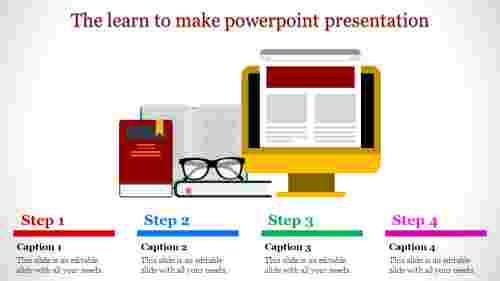 learn to make powerpoint presentation - steps to follow