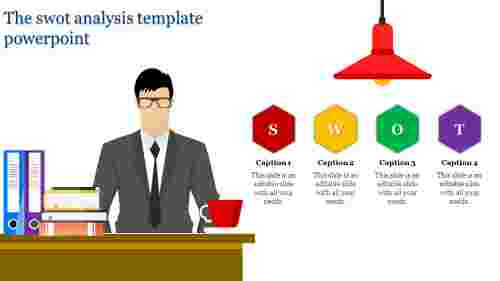 Creative Business Swot Analysis Template Powerpoint