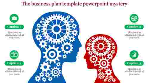 business plan template powerpoint - wheels