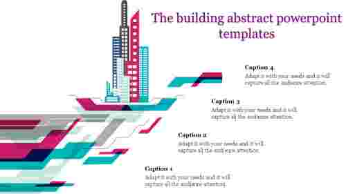 building abstract powerpoint templates