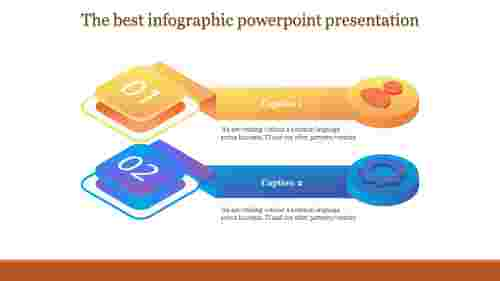 Infographic Powerpoint Presentation With Mixed Shapes