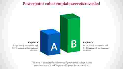 powerpoint cube template - Bar model