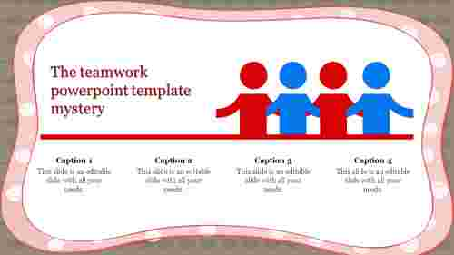 Teamwork powerpoint template Design