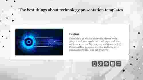 Innovative technology presentation templates