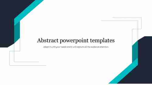 Abstract powerpoint templates for title presentation