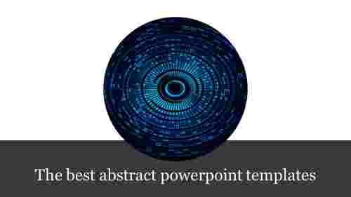 abstract powerpoint templates - eye ball model