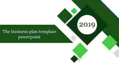 business plan template powerpoint - introduction slide
