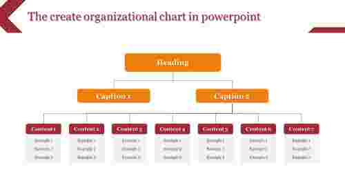 create organizational chart in powerpoint - rectangle