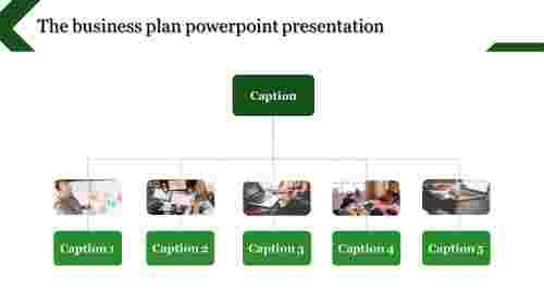 business plan powerpoint presentation - vertical