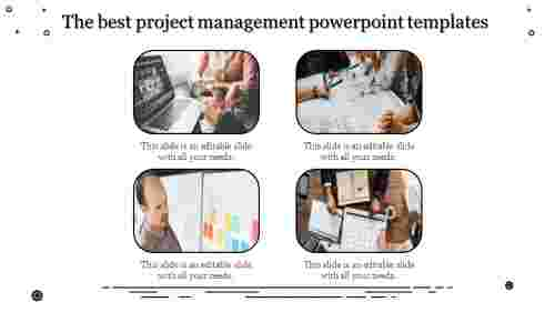 A four noded best project management powerpoint tem