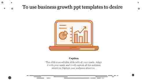 business growth PPT templates - graphs