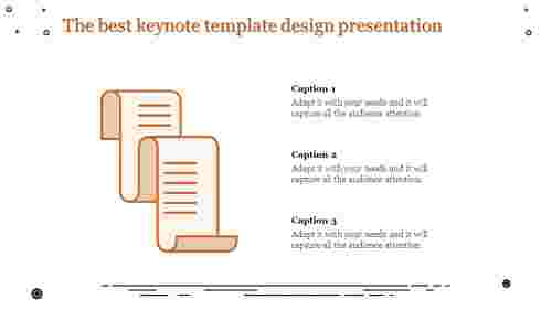 amazing keynote template design