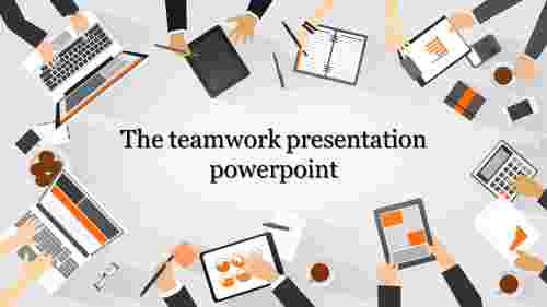 teamwork presentation powerpoint backgrounds