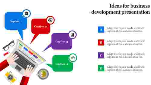 Ideas for business development presentation