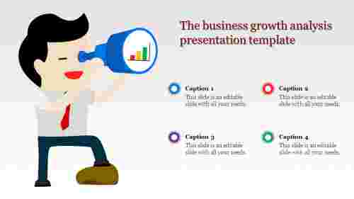analysis presentation template-The business growth analysis presentation template