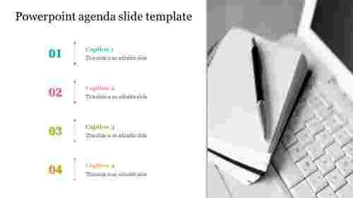 powerpoint agenda slide template - business meetings