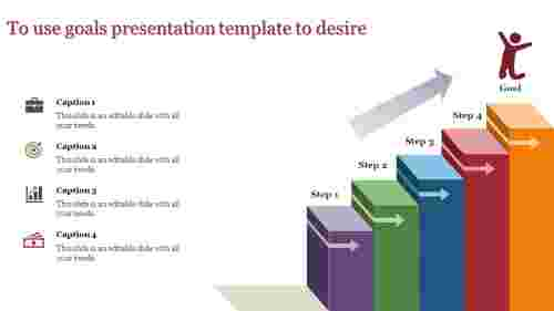 goals presentation template to your desire