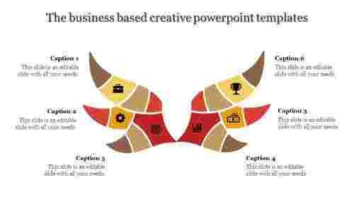 creative powerpoint templates-The business based creative powerpoint templates