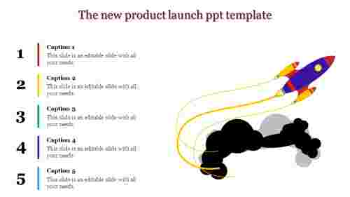 new product launch ppt template-The new product launch ppt template