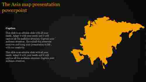 A one noded map presentation powerpoint