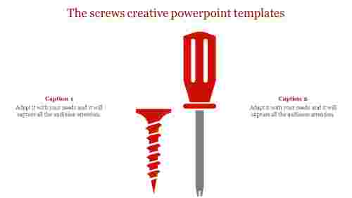 Screw creative powerpoint templates