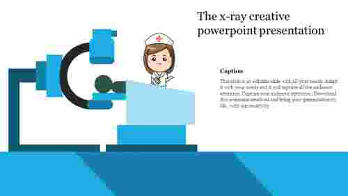 creative powerpoint presentation-The x-ray creative powerpoint presentation-Style 1