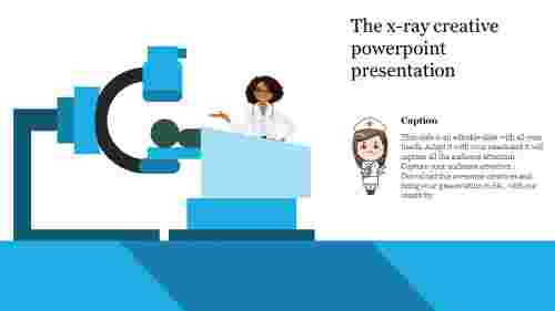 creative powerpoint presentation-The x-ray creative powerpoint presentation-Style 2